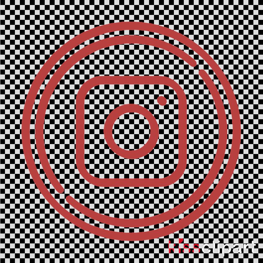 Instagram icon Social circles icon Photograph icon clipart.