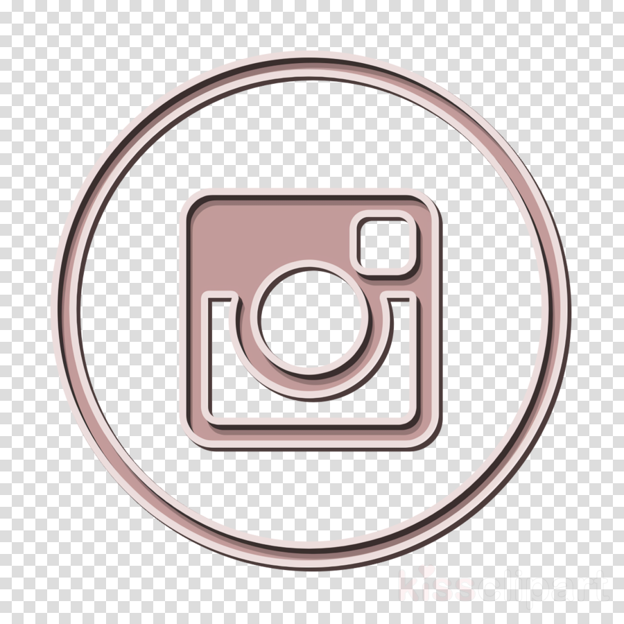 circle icon instagram icon clipart.