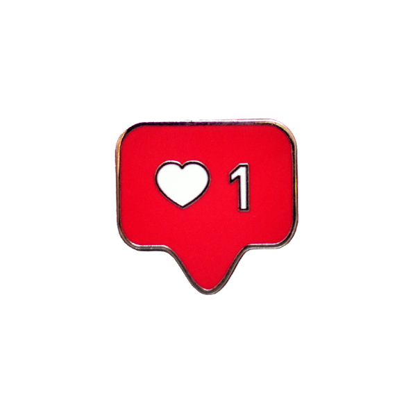 Heart Instagram Like button Emoji.