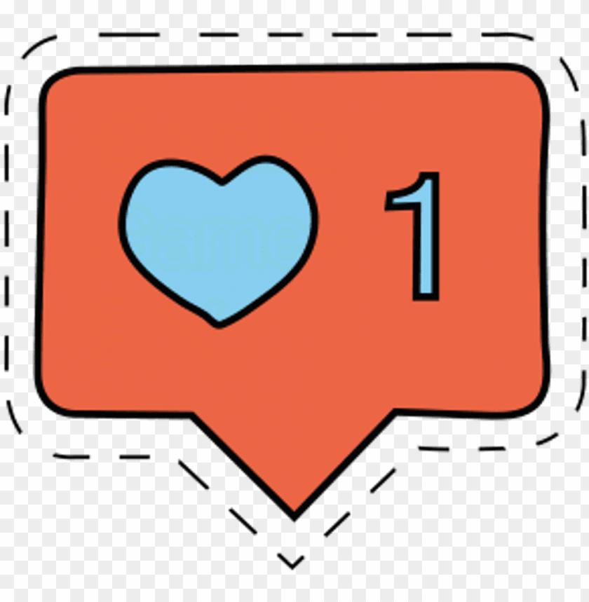 instagram heart like tumblr emoji.
