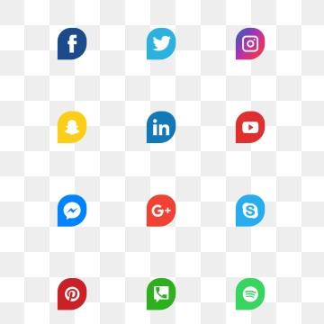 Facebook Twitter Instagram PNG Images.