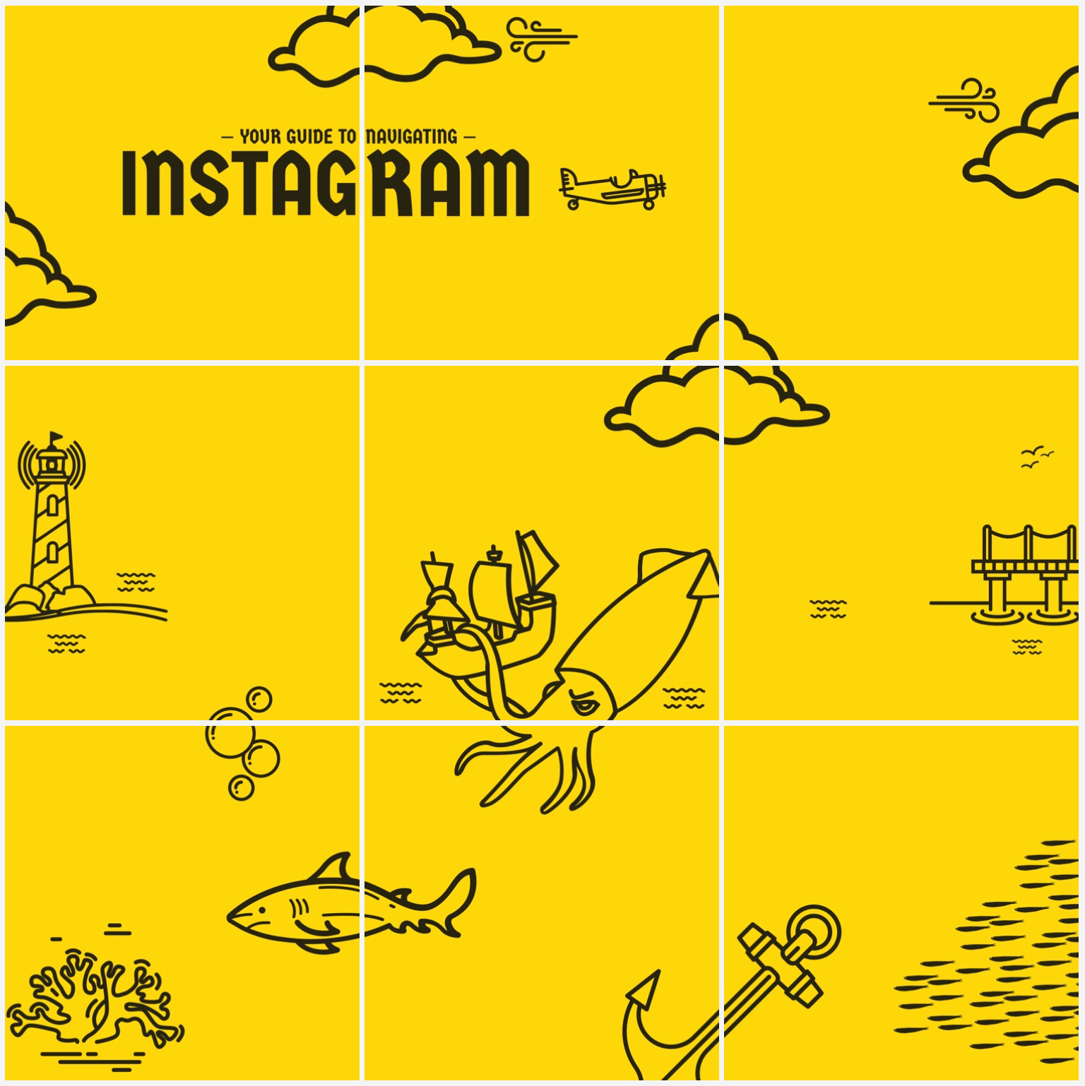 How to Design a Grid Takeover for Your Instagram Feed.
