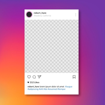Instagram Feed Vectors, Photos and PSD files.