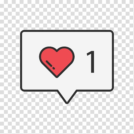 Heart and number 1 , Like button Computer Icons Social media.