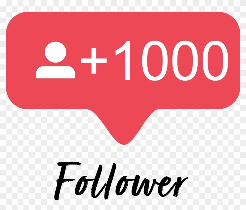 000 Instagram Followers.