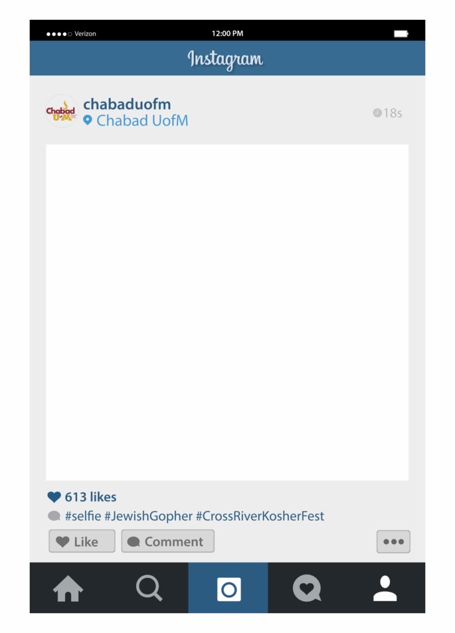 Instagram Frame Png.
