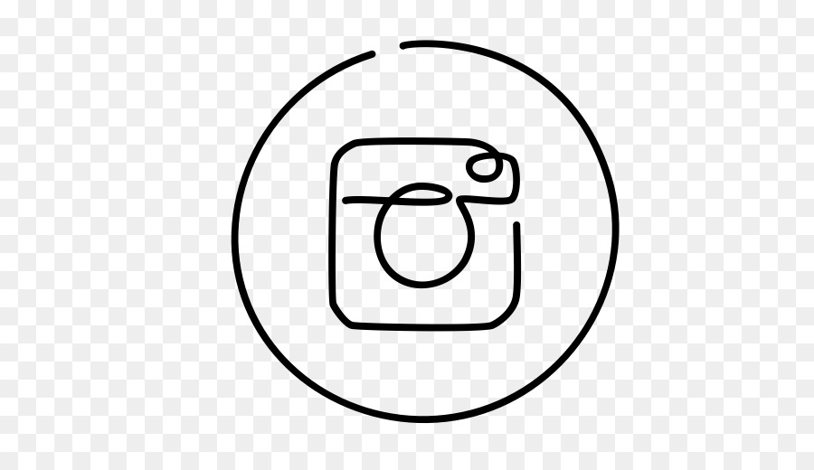 INSTAGRAM ICON BLACK TRANSPARENT.
