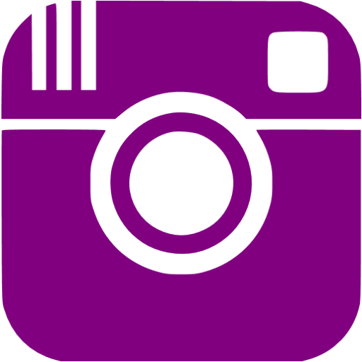 Purple instagram icon.