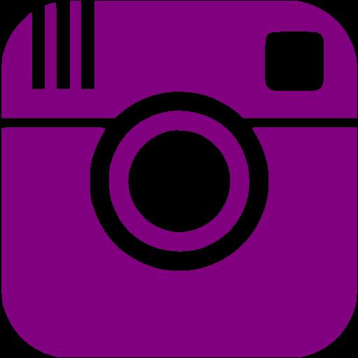 Purple instagram icon.