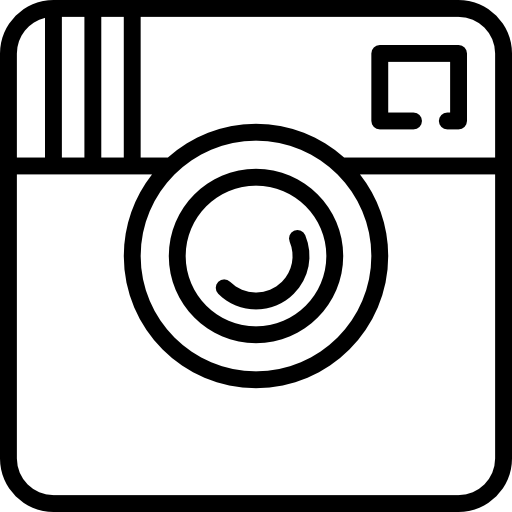 Big instagram logo Icons.
