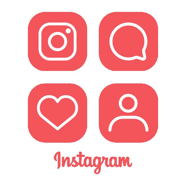 Instagram Logo Icon, Red Instagram Icon, Ig Icon, Instagram Logo PNG.