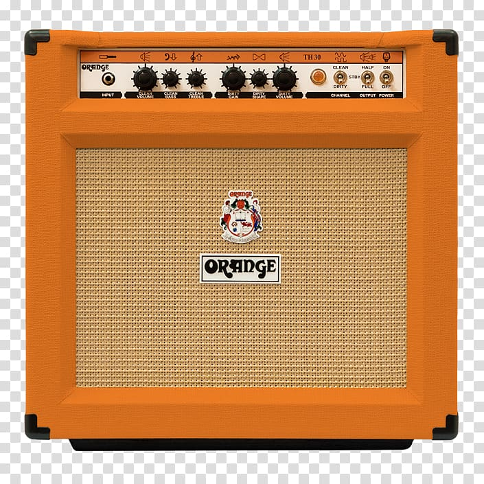 Guitar amplifier Orange Music Electronic Company, instagram.