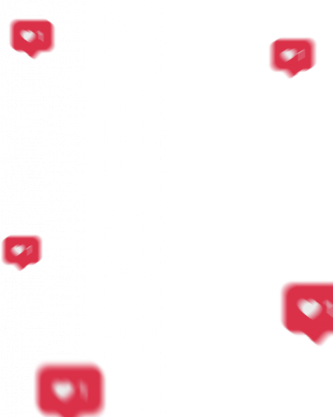 Instagram Likes Button PNG.