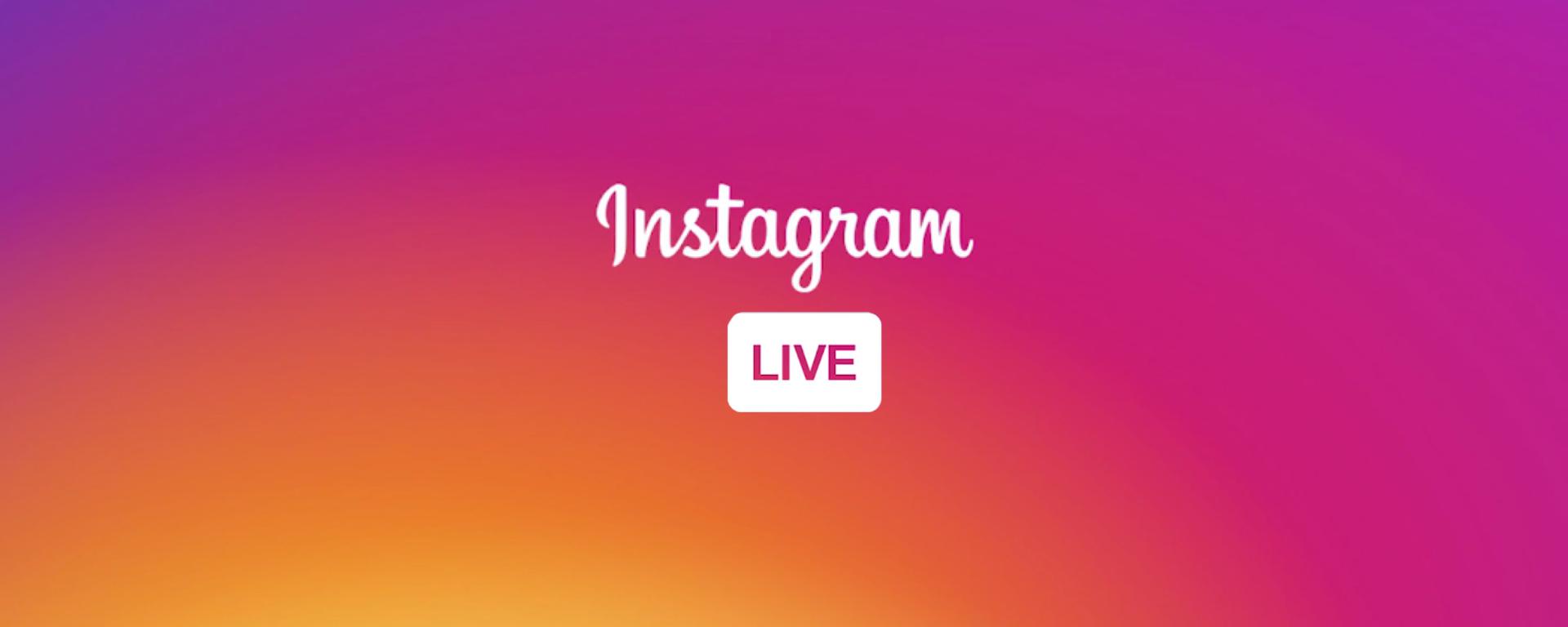 Instagram Live for musicians.