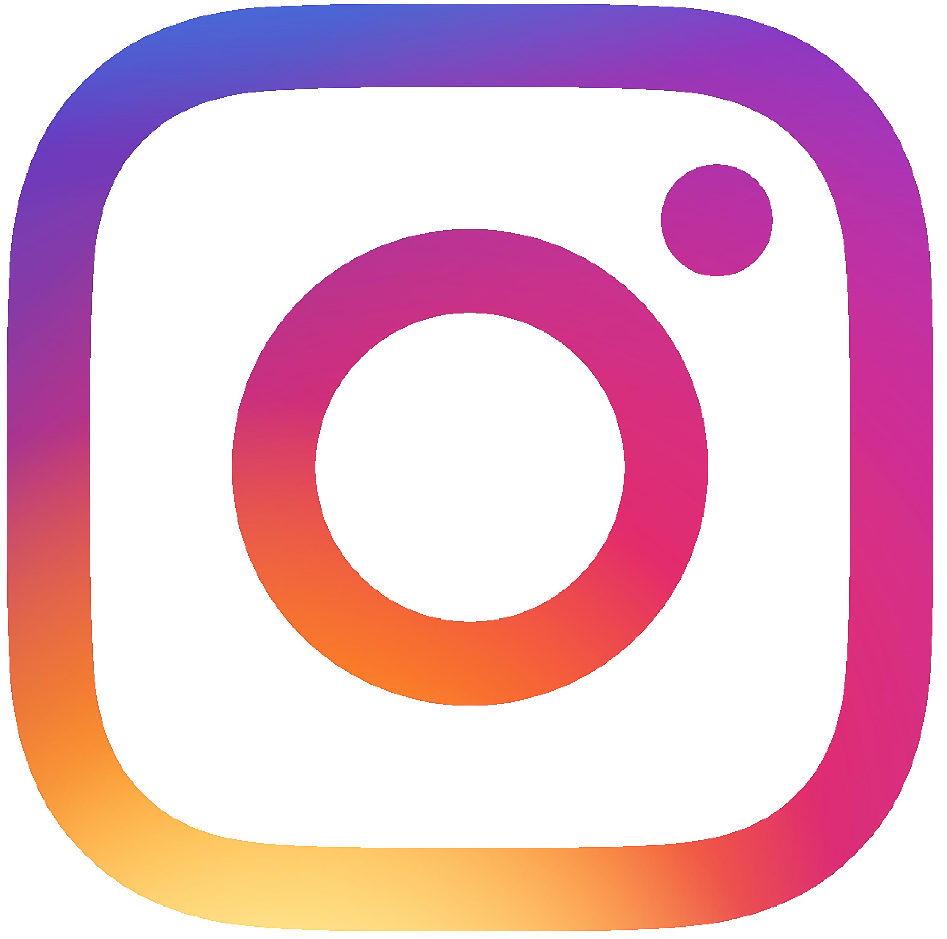 Free PNG Instagram logo.