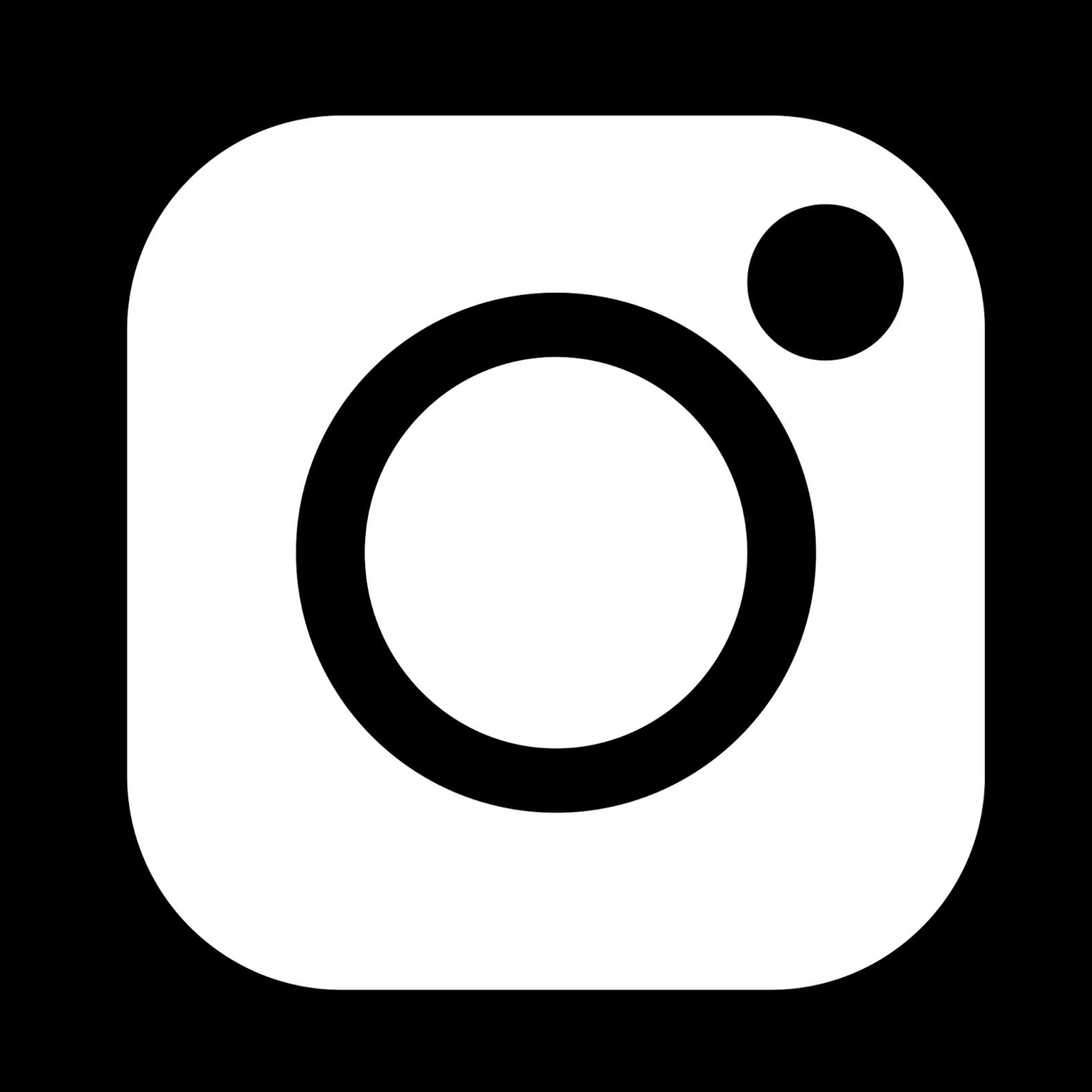 NEW INSTAGRAM LOGO BLACK AND WHITE PNG 2019 · eDigital.