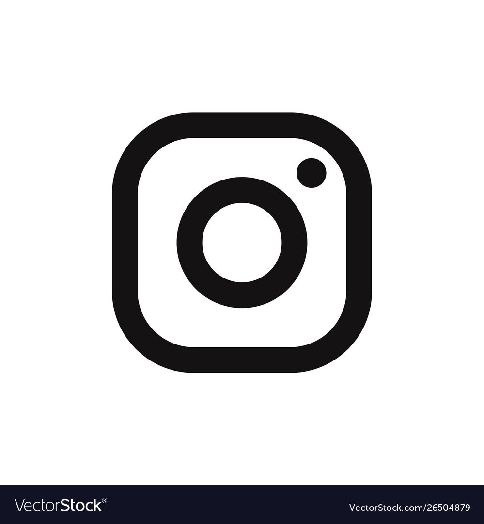 Instagram logo icon social media symbol.