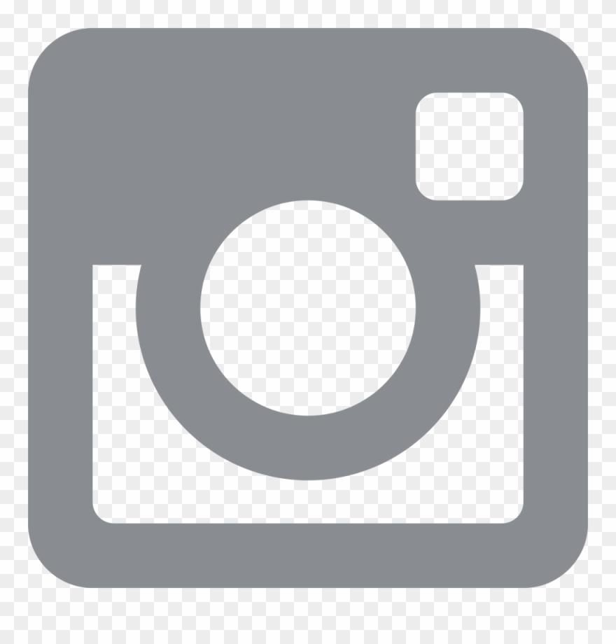 Instagram Logo Grey.