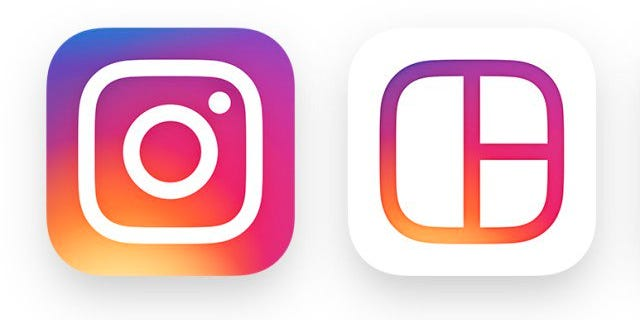 New Instagram icon design.