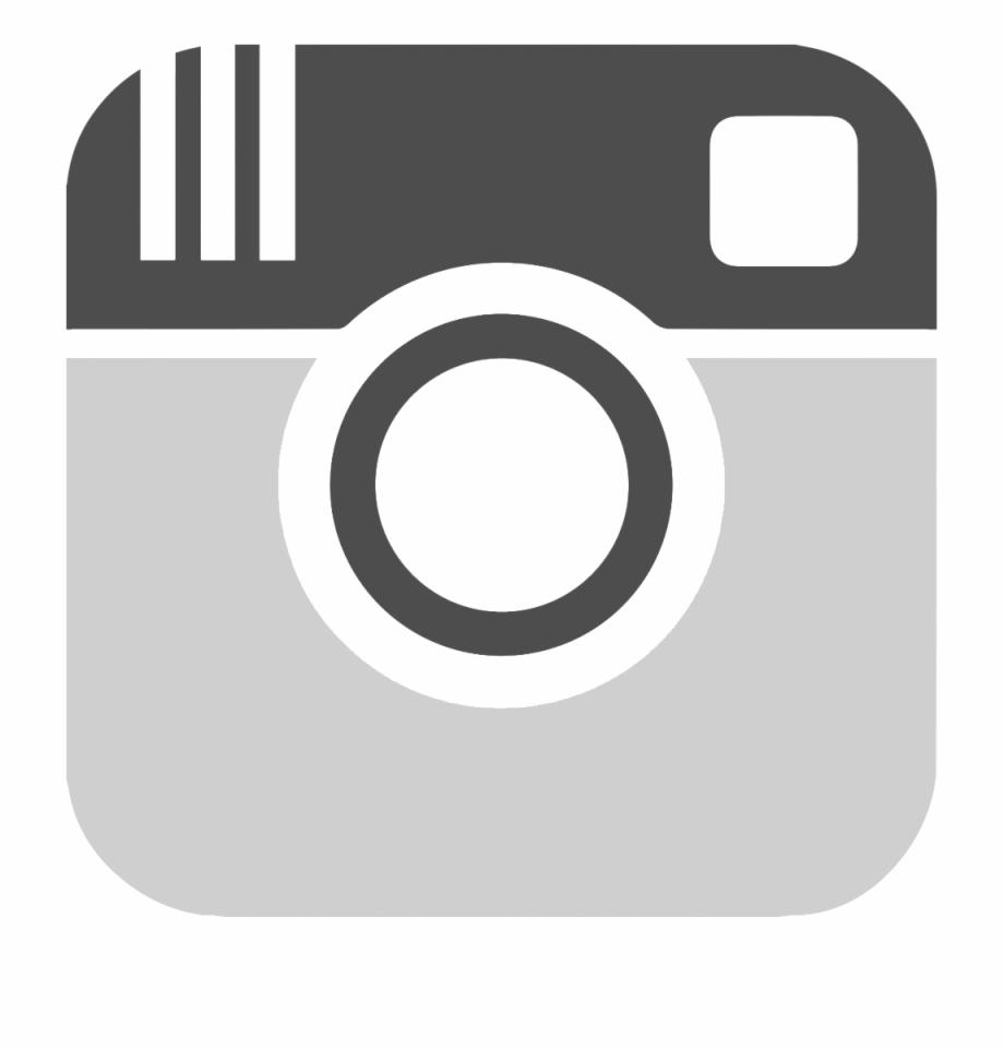 Instagram Logo Grey Vector , Png Download.