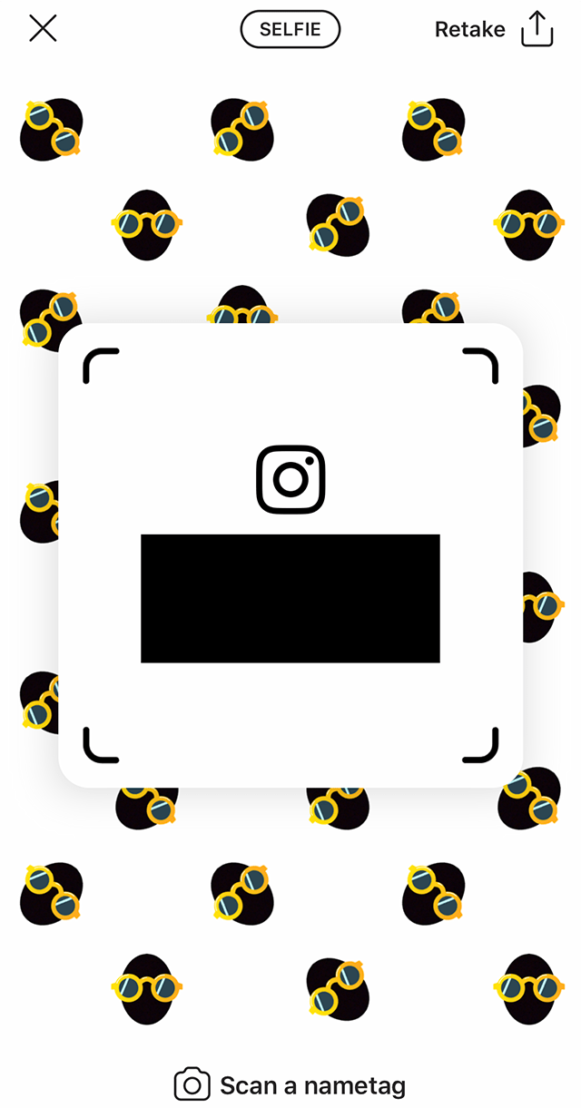 Instagram: Here\'s How to Customize Your Nametag.