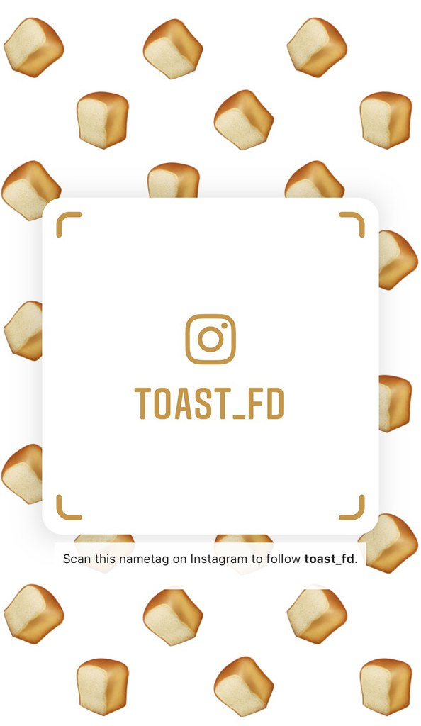 fd) Instagram Nametag.
