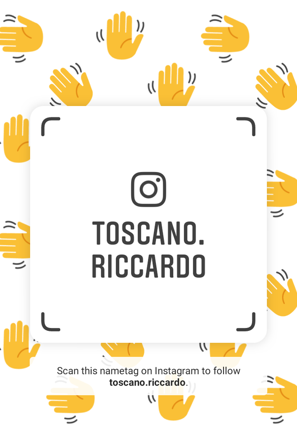What is your Instagram nametag?.