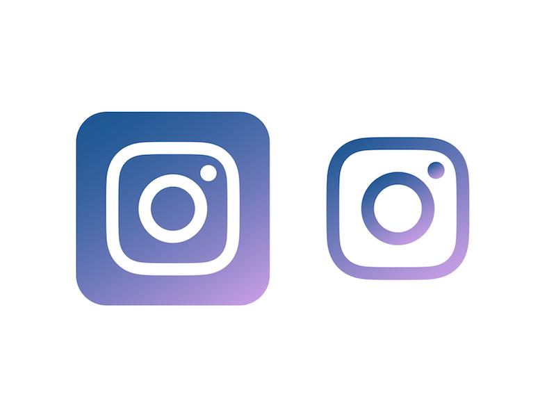 My version of Instagram\'s new logo by Desiree Grace Tan on.
