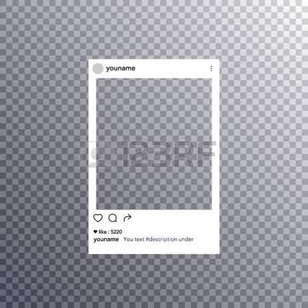 Instagram Frame Clipart.