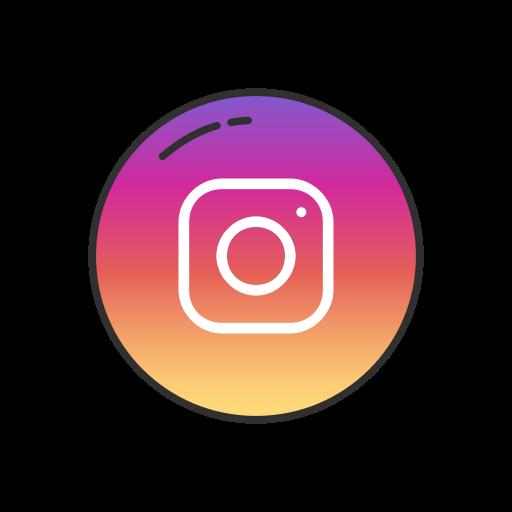Instagram, instagram logo, label, logo icon.