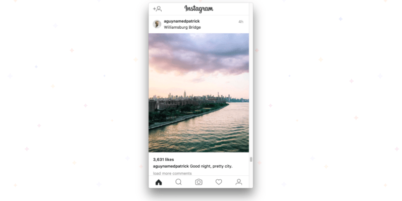 Poster lets you upload photos to Instagram straight from your PC.