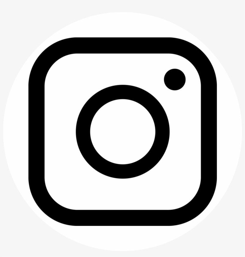 Logo Instagram With White Circle Background Png.