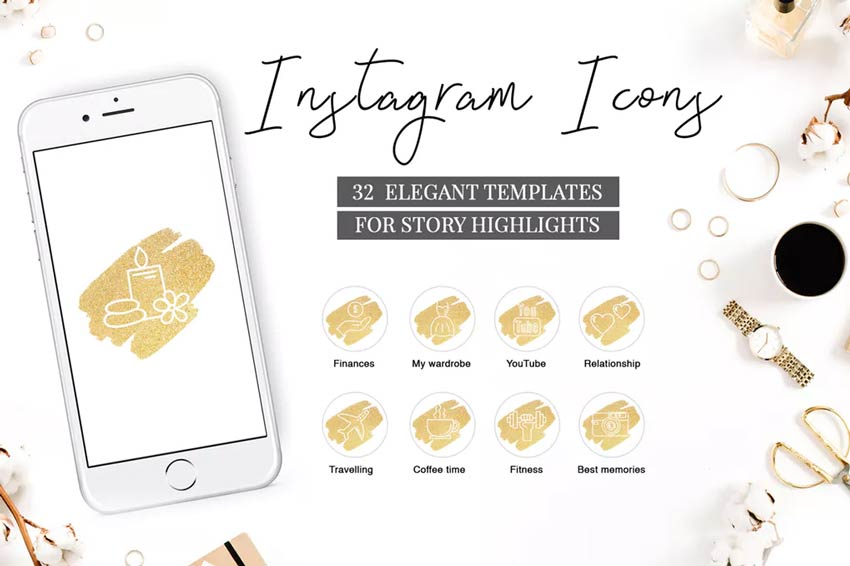 21 Best Instagram Highlight Icons for Story Covers (New for.