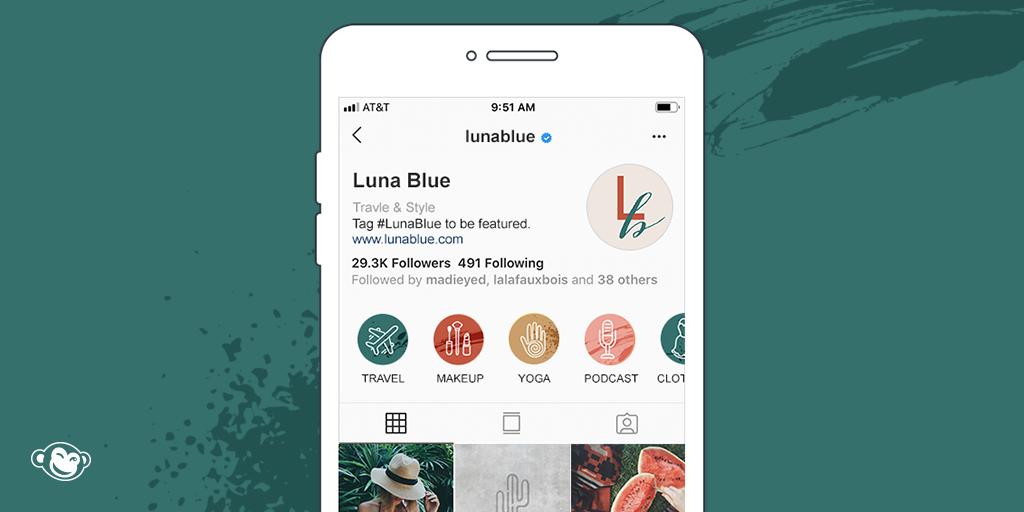 Make Custom Instagram Highlight Covers in PicMonkey.