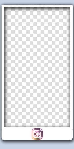 Instagram Template transparent background PNG cliparts free.
