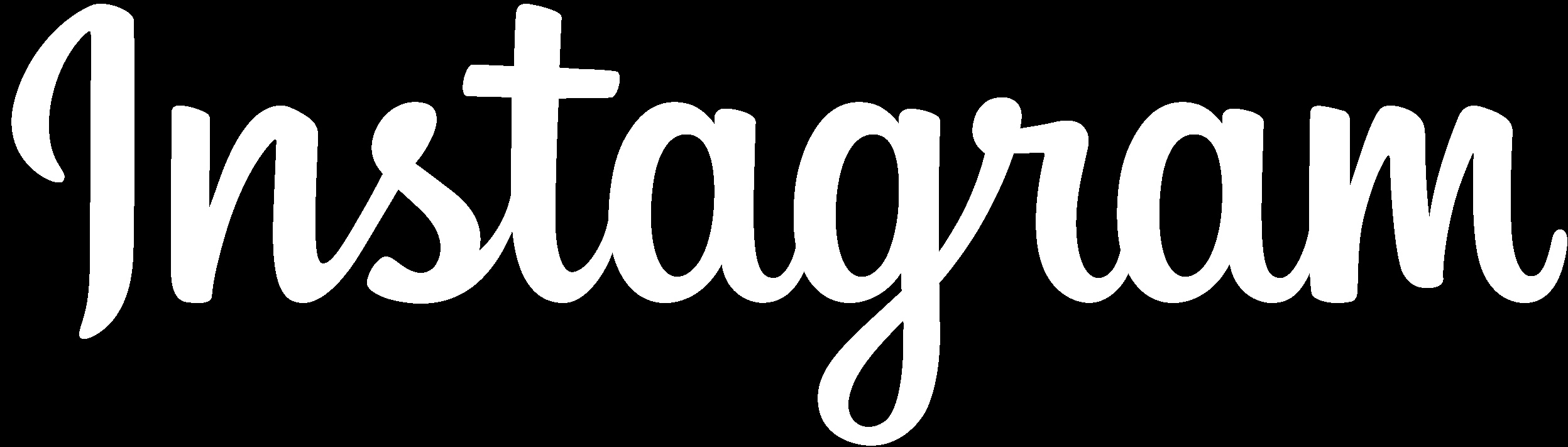 Black and white instagram Logos.