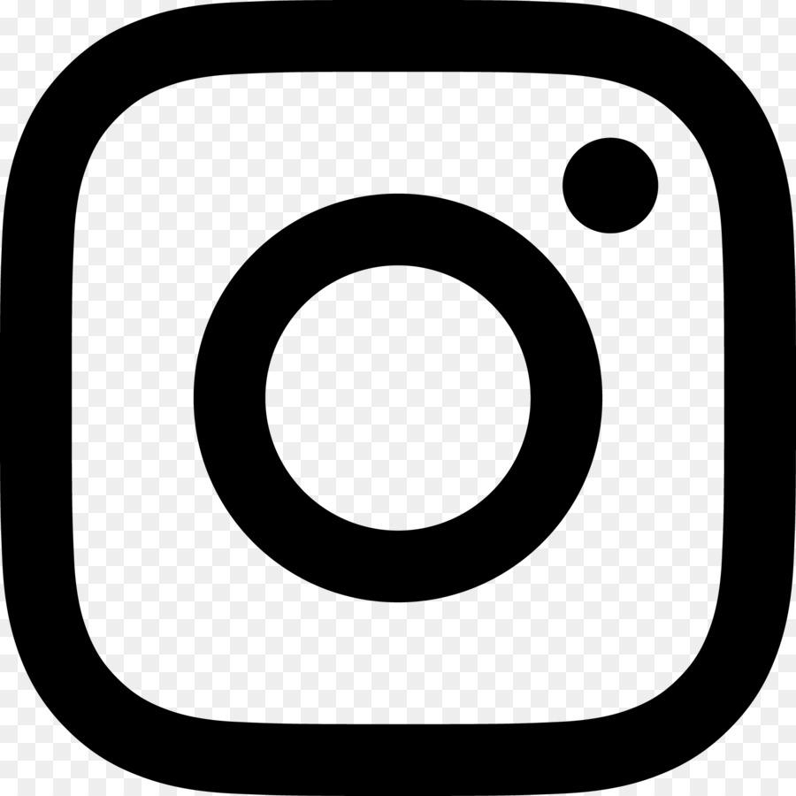 Instagram White Logo clipart.