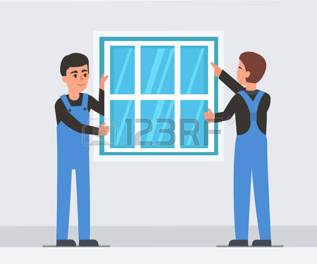 393 Install Window Stock Vector Illustration And Royalty Free.