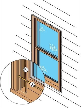 Savings Project: Install Exterior Storm Windows With Low.