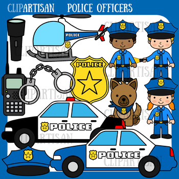 Police Clip Art, Police Officer.