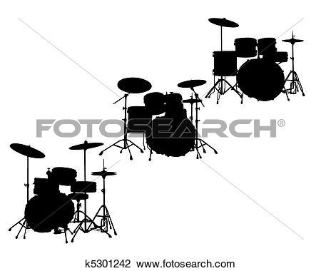 Clipart of drum.