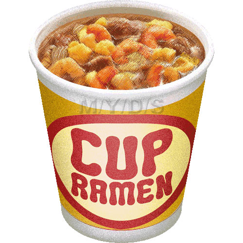 Cup Of Noodles Clipart.