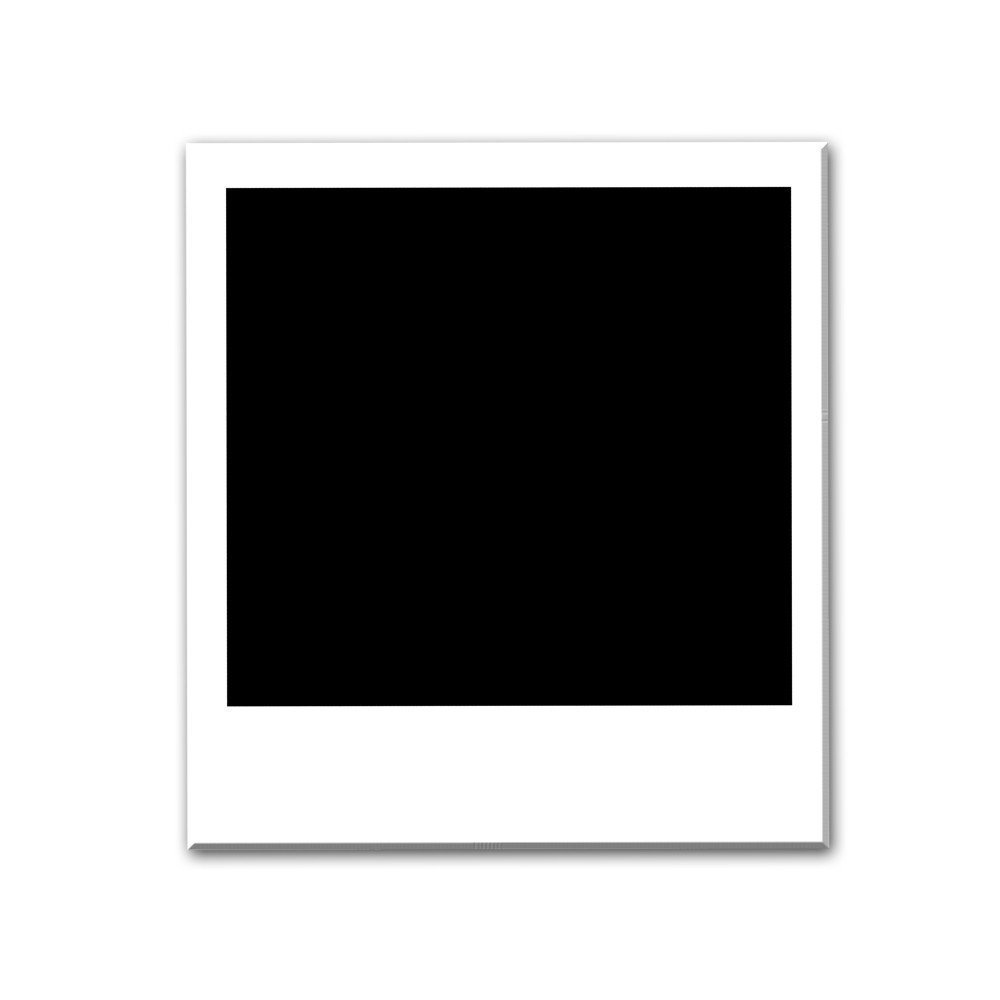 Polaroid Picture Frame Clipart.