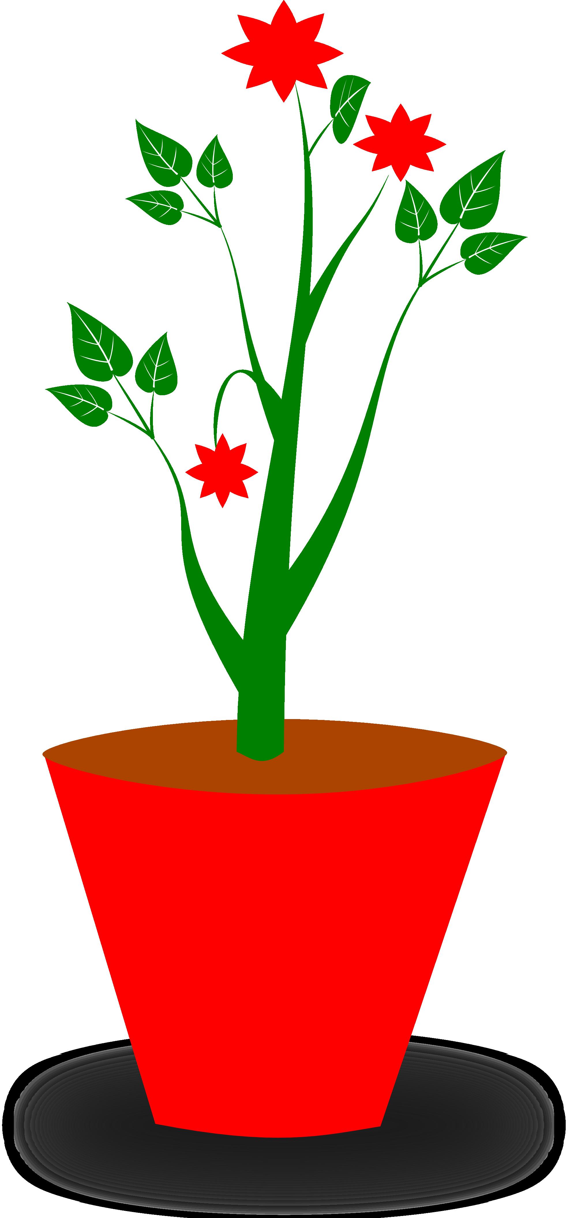 clipartist.net » Clip Art » gsagri 4 flower pot clipartist.net.