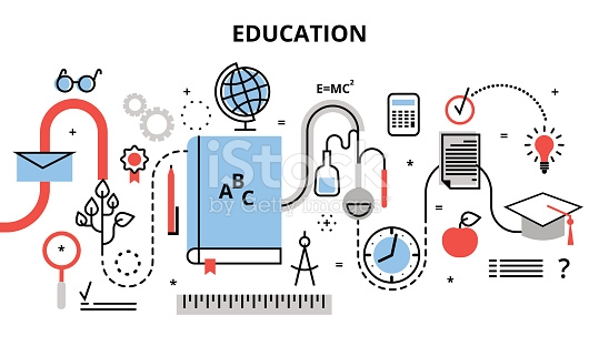 Concept Of Education Process Learning In Educational Institution.