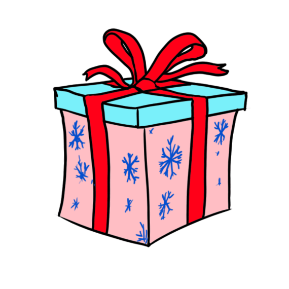 Instructions On How To Draw Christmas Pictures Clipart.