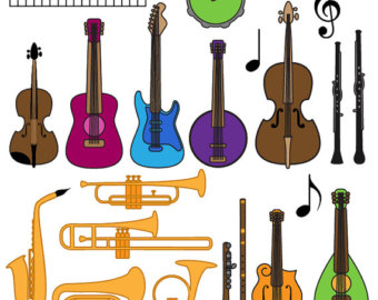 Musical Instrument Clipart.