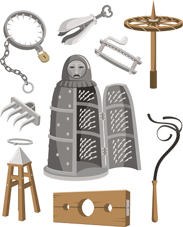 Instrument Of Torture Clip Art, Vector Images & Illustrations.