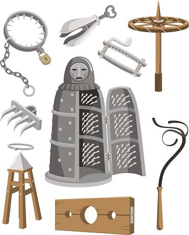 Instrument Of Torture Clip Art, Vector Images & Illustrations.