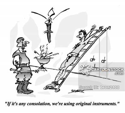 Torture Instrument Cartoons and Comics.